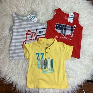 Baby Boy Graphic Tee & Tanks, 18-24M